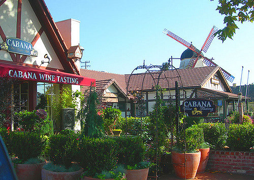 Windmill in Downtown Solvang