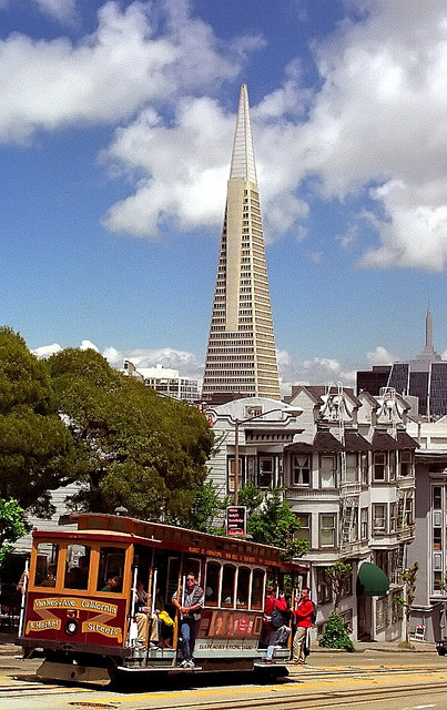 California Tourism – San Francisco Cable Car