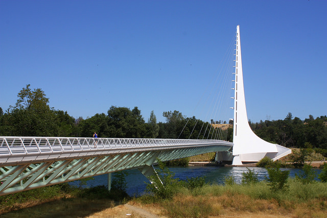 Redding Sundial Bridge